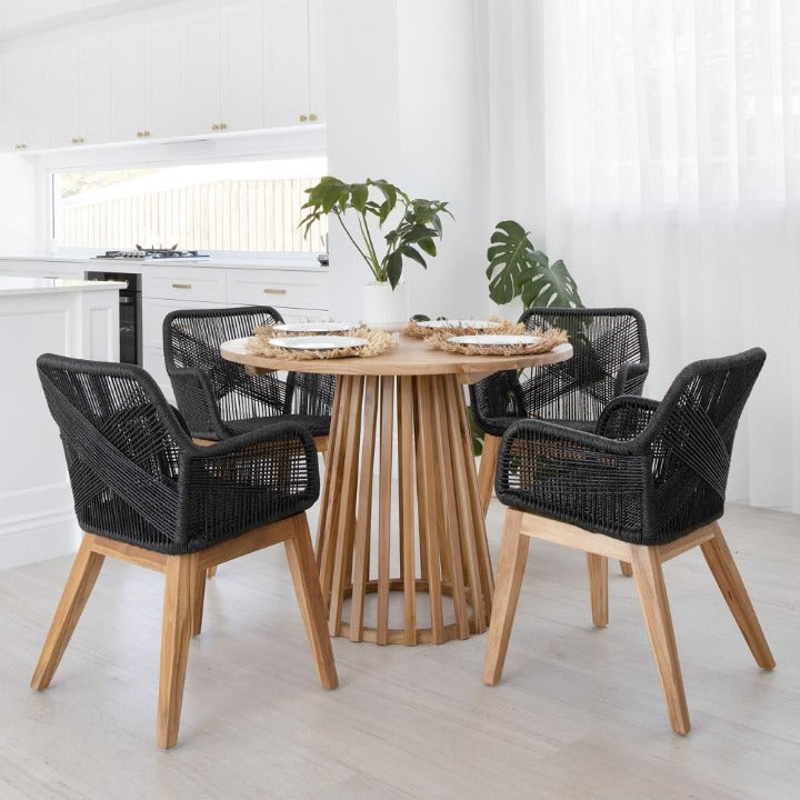 Daniels Dining Chair:Ocean Luxe