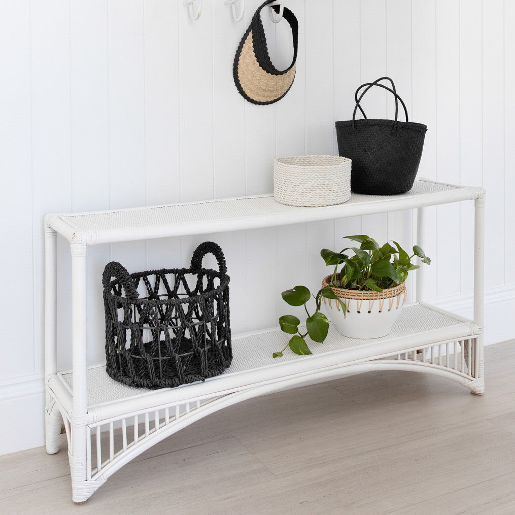 Pre Order - Carrie's Rattan Console Table