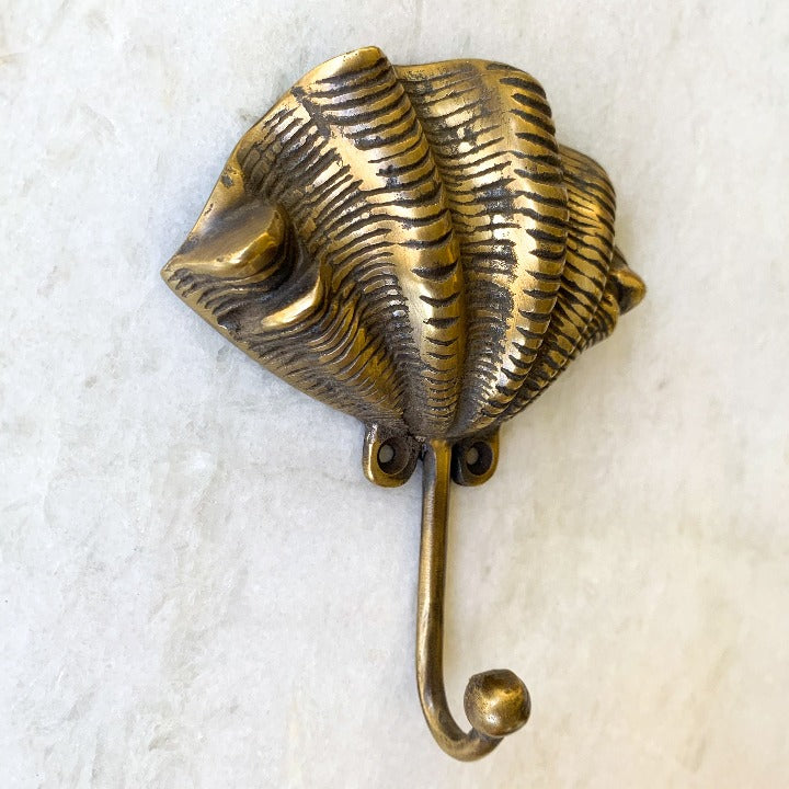 Clam Brass Hook