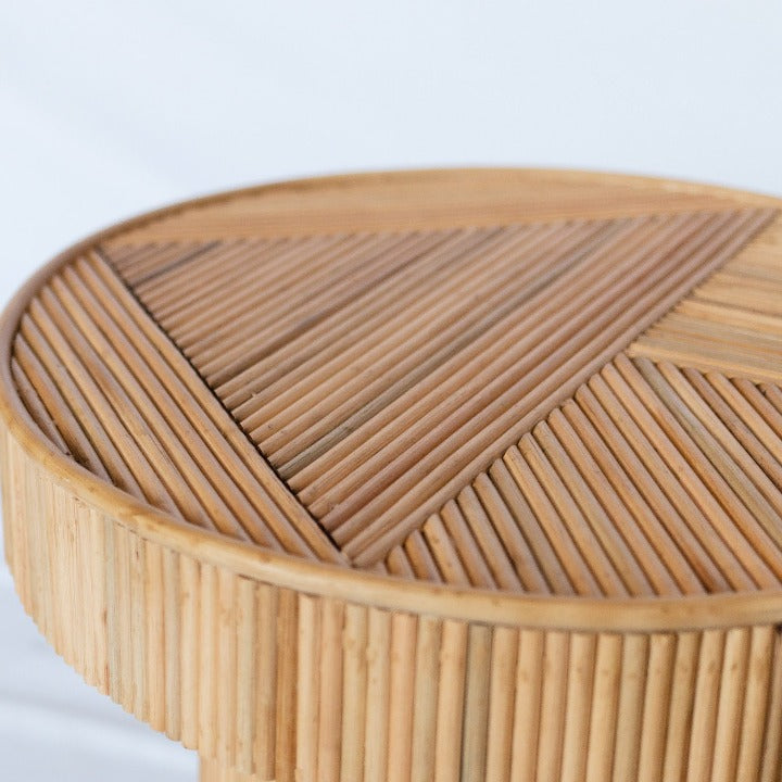 Tiannas Rattan Table:Ocean Luxe