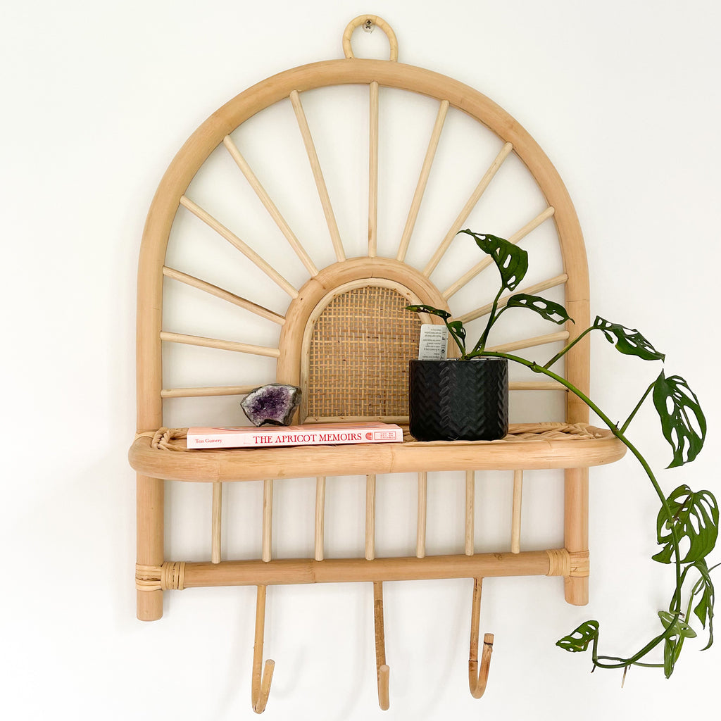 Sunshine Rattan Shelf
