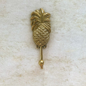 gold pineapple hook: Ocean Luxe