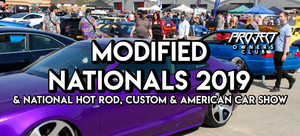 Modified Nationals 2019 & National Hot Rod, Custom & American Car Show
