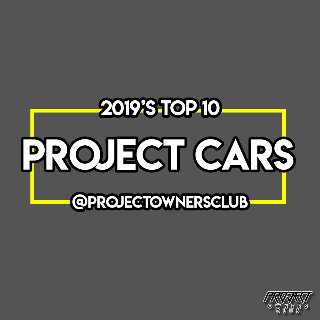 2019's Top 10 Project Cars
