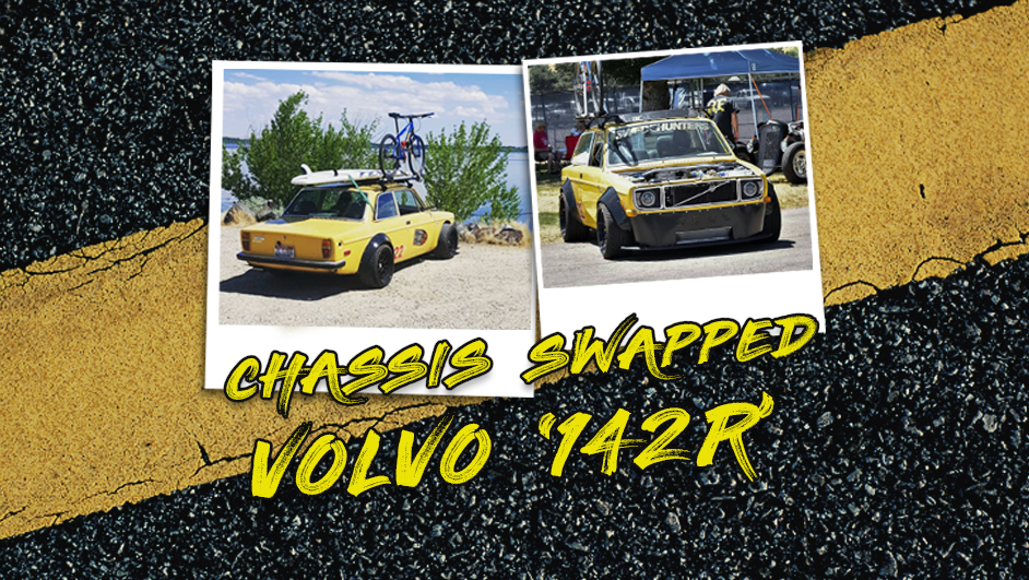 Shane's chassis swapped AWD Volvo '142R'