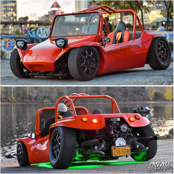 Bagged beach Buggy is the...