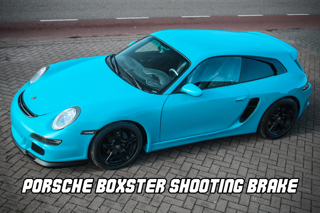 Porsche Boxster 986 Shooting Brake by Van Thull Development