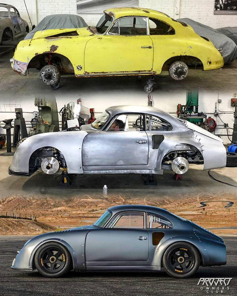 The evolution of the Emory RS - Porsche 356