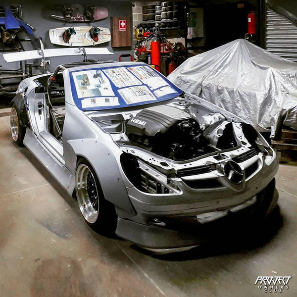 Hemi Mercedes SLK Drift Build