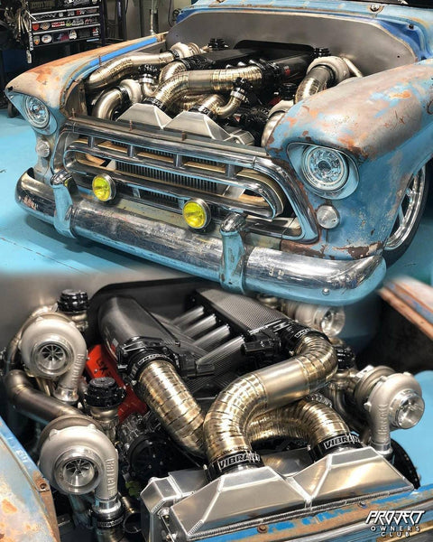 Quad Turbo LSX Chevy Cameo...