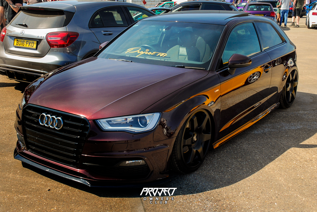 audi a3 s3 slammed bagged stanced rotiform project car 191