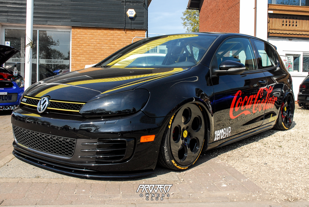 Vw golf mk6 bagged airlift coca colair gti rotiform modified nationals 2019