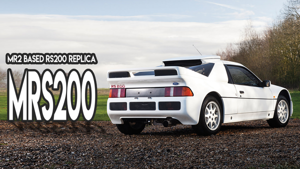 rs200 ford toyota mr2 replica kit car