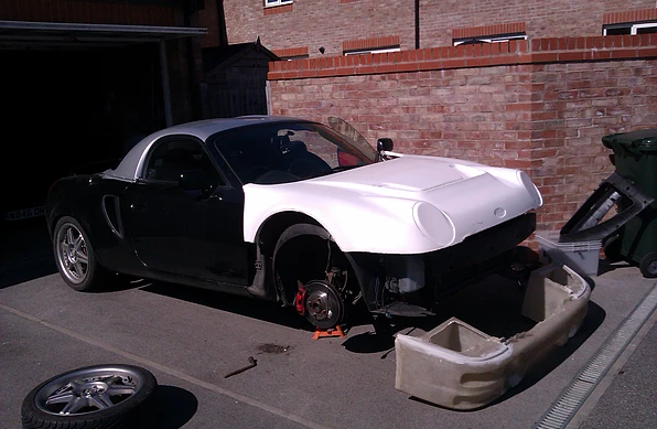 ford rs200 mrs200 toyota mr2 kit car replica