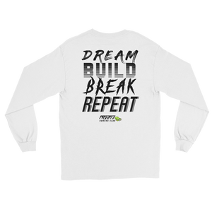 'Dream, Build, Break, Repeat' - Long Sleeve - Project Owners Club