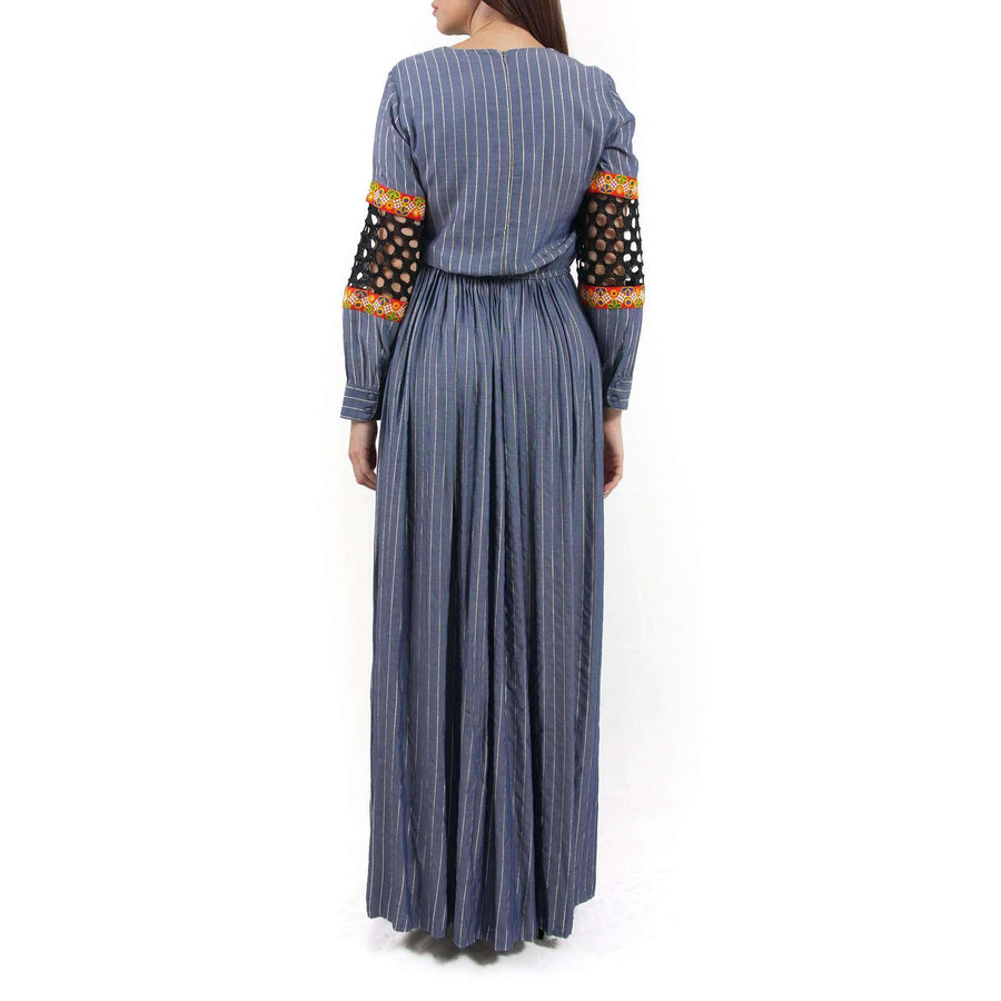 Full Sleeved Maxi Dress