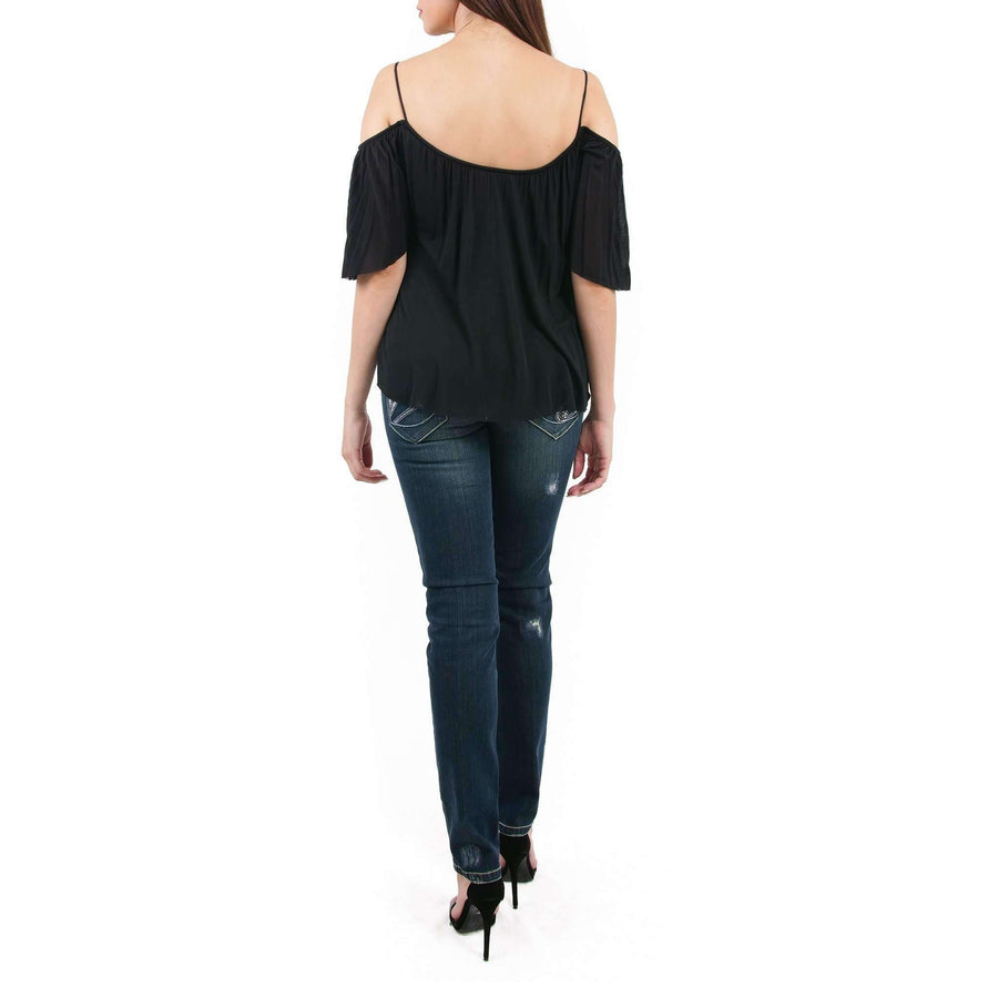 Flight Phase Cold Shoulder Top