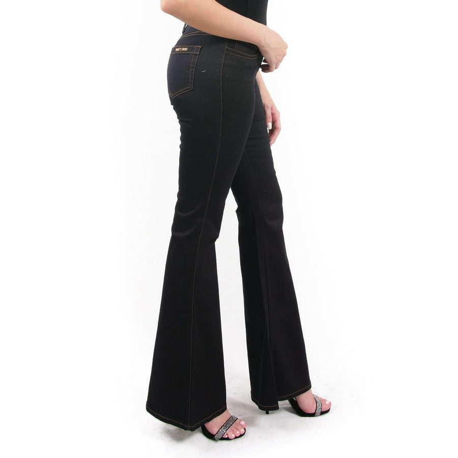 Flared Low Rise Jeans
