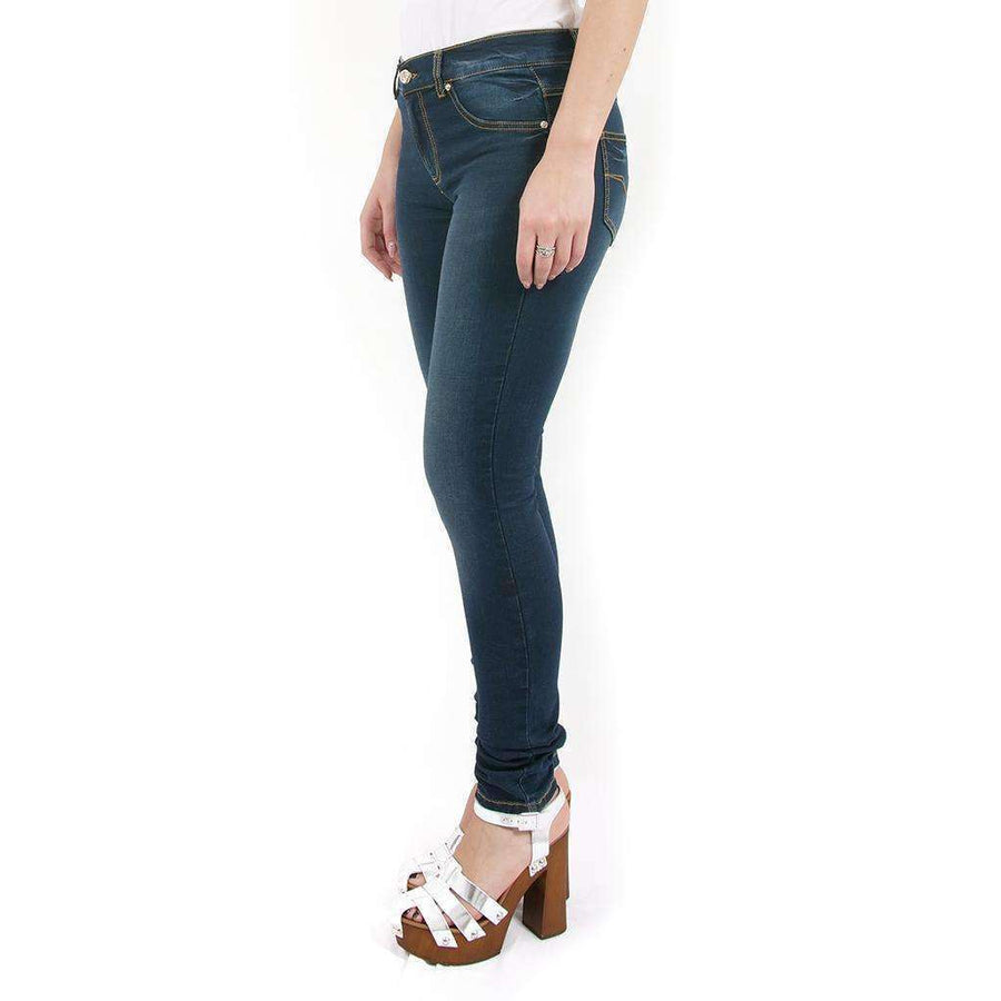 Faded Effect Skinny Jeans