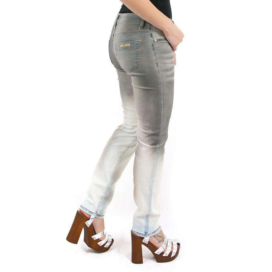Mid Rise Five Pocket Jeans