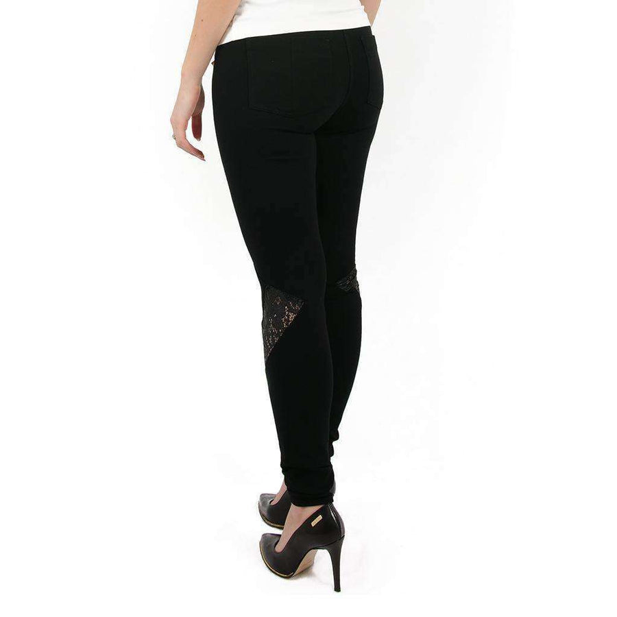 Cut out Lace Leggings