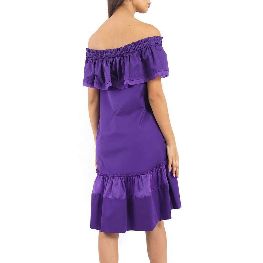 Alberta Ferretti Off shoulder Dress