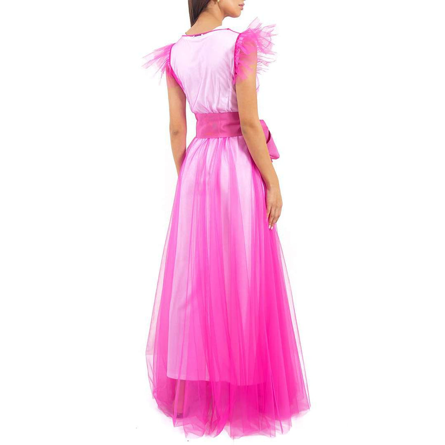 Long Tulle Dress