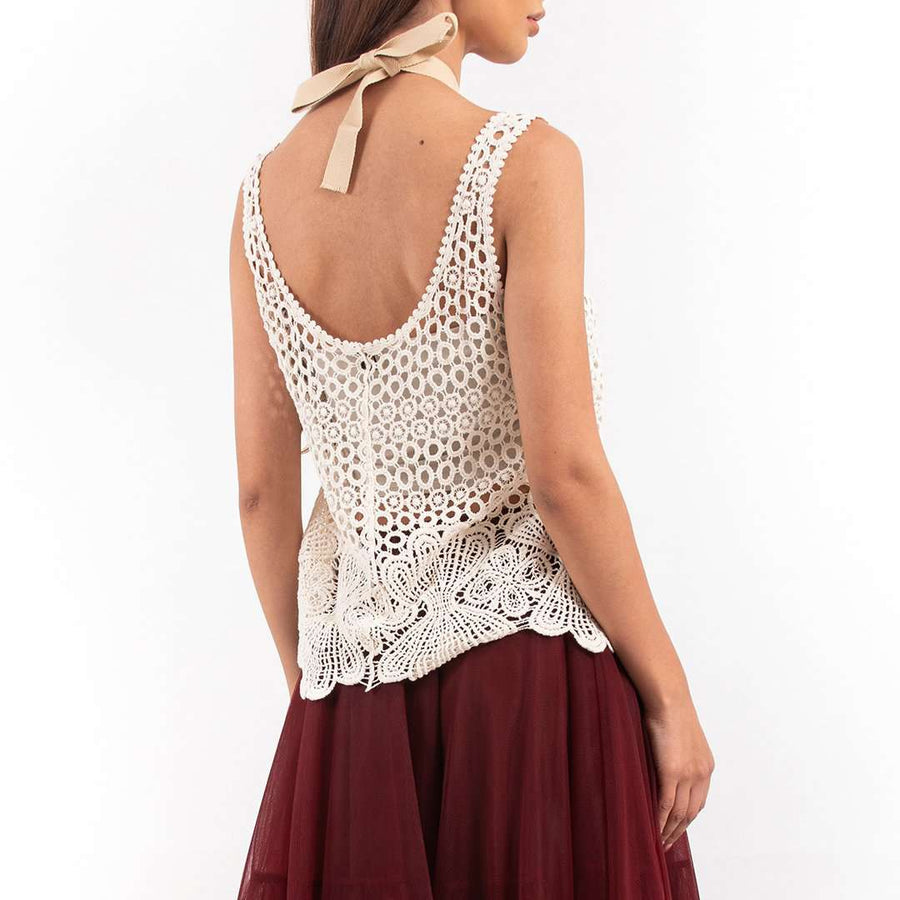 Dentelle Sleeveless Top