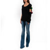 Cut out Sleeve T-Shirt