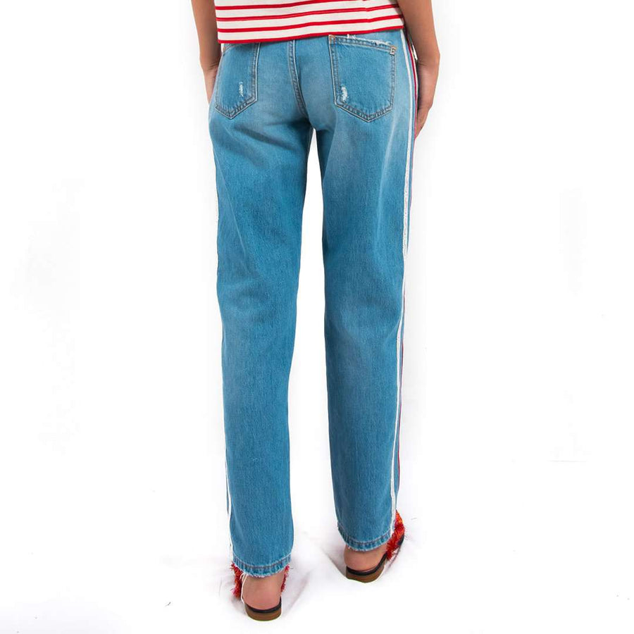 Ermanno Scervino Side stripe Jeans