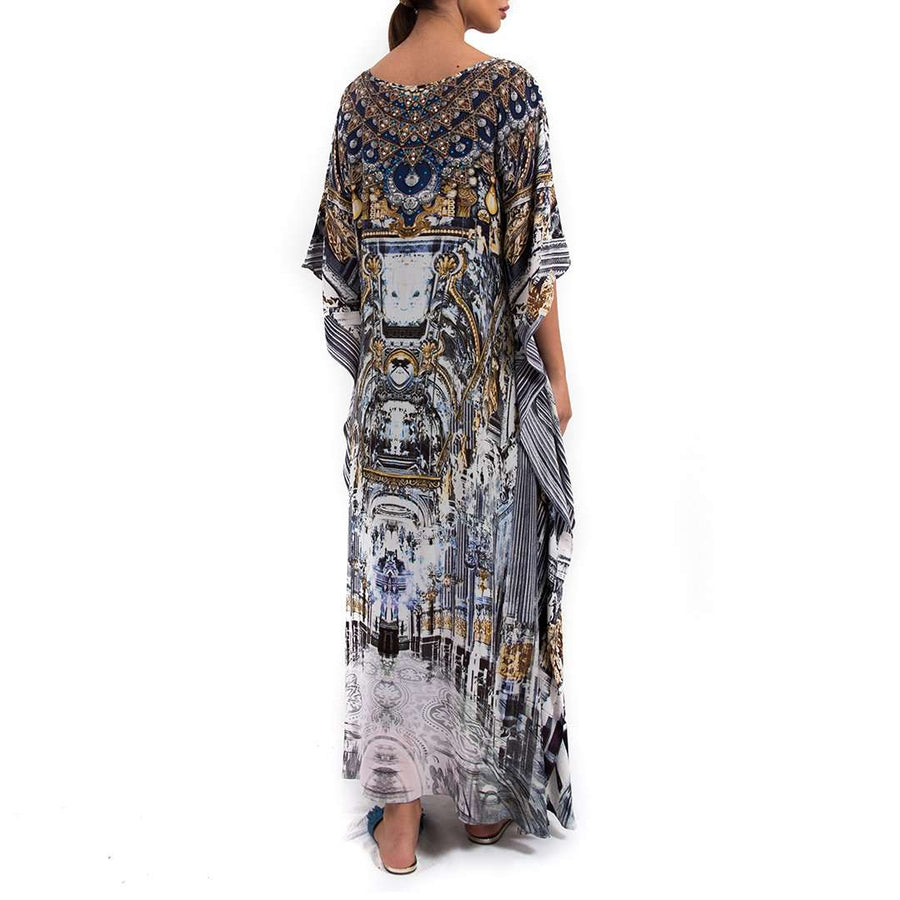 Printed Long Kaftan