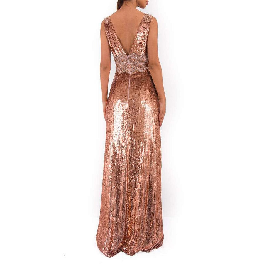 Jenny Packham Loretta Sequin Gown