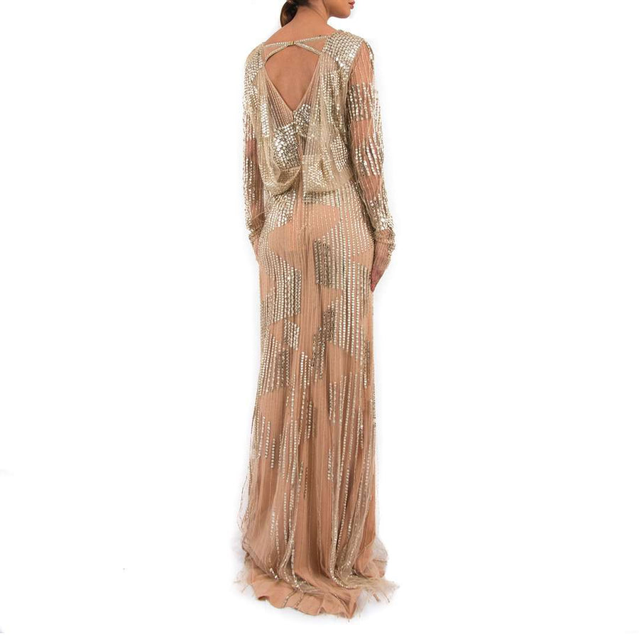 Jenny Packham Vivien Sequin Gown