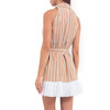 Carmona Striped Mini Dress