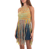 Knitted Fringe Crop Top
