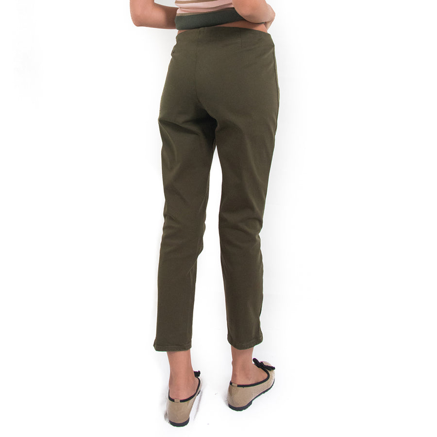Ermanno Scervino Green Trousers