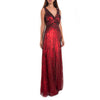 Belle Scarlet Sequin Gown