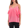 Bailey 44 Cold shoulder pink top