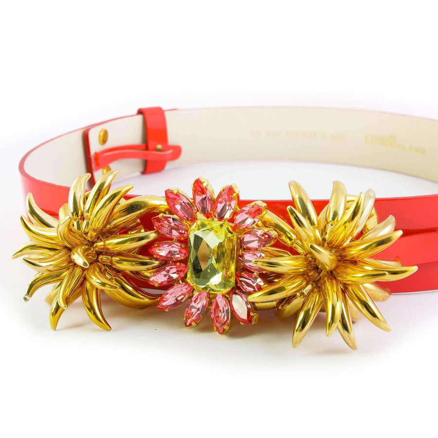 Crystal embellished Flower Belt
