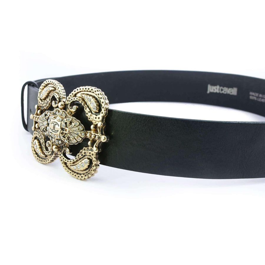 Crystal Adorned Waist Belt