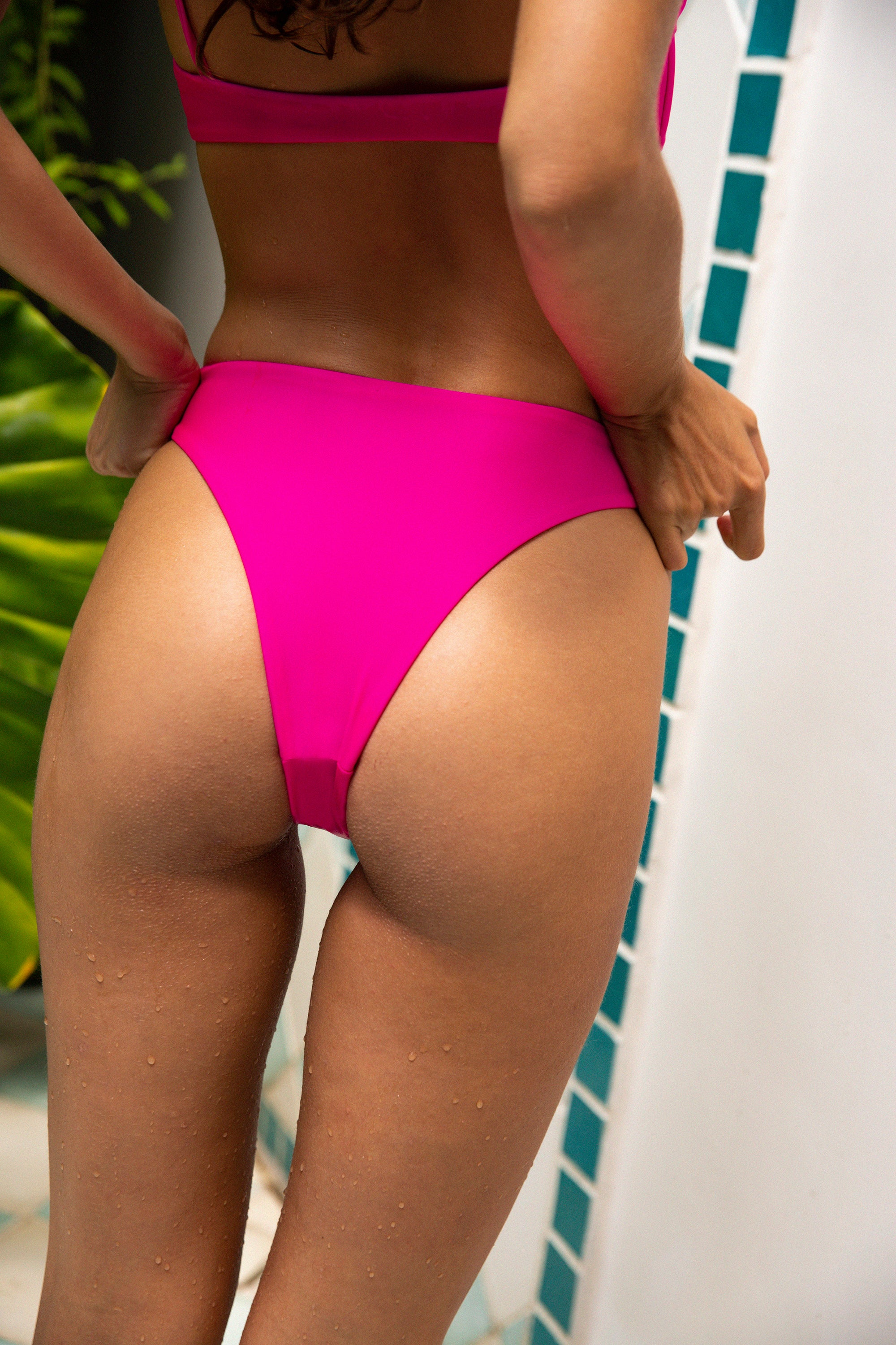 Brooklyn Bottom - Neon Fuscia