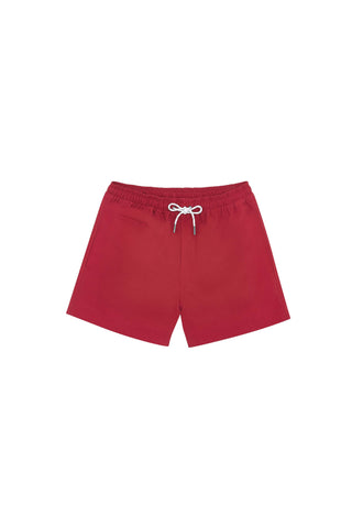 Tato Swim Short - Red Cranberry
