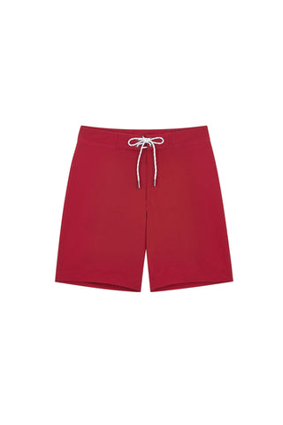 "Eddie Board Short 19"" - Red Cranberry"