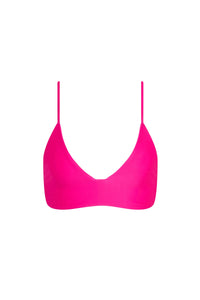 Jungle Top - Neon Fuscia