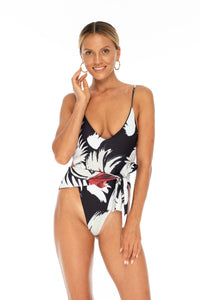 One Piece Adjustable -  Sofia Faux Camouflage