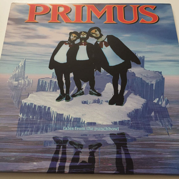 Primus Tales From The Punchbowl 1995 Rock Vinyl