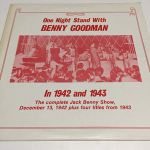 Benny Goodman : One Night Stand With Benny Goodman