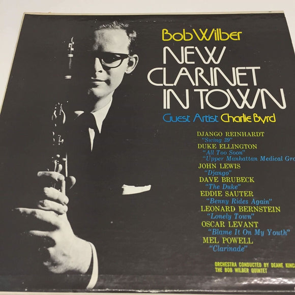 Bob Wilber : New Clarinet In Town