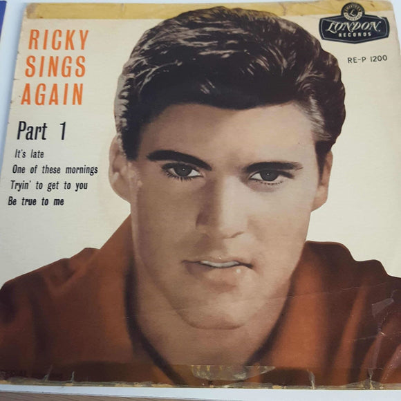 Ricky Nelson : Ricky Sings Again, Part 1
