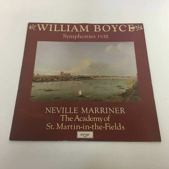 William Boyce, The Academy Of St. Martin-in-the-Fields :‎ Symphonies I-VIII